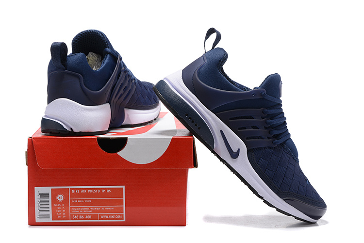 pretty nice b491a 0541c Nike Air Presto SE Woven Midnight Navy Men's Women's Running Shoes  848186-400