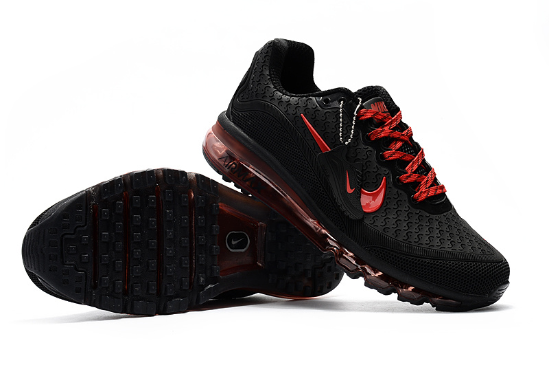 free shipping a4e12 1194b Nike Air Max 2017. 5 KPU Black Red Men s Running Shoes