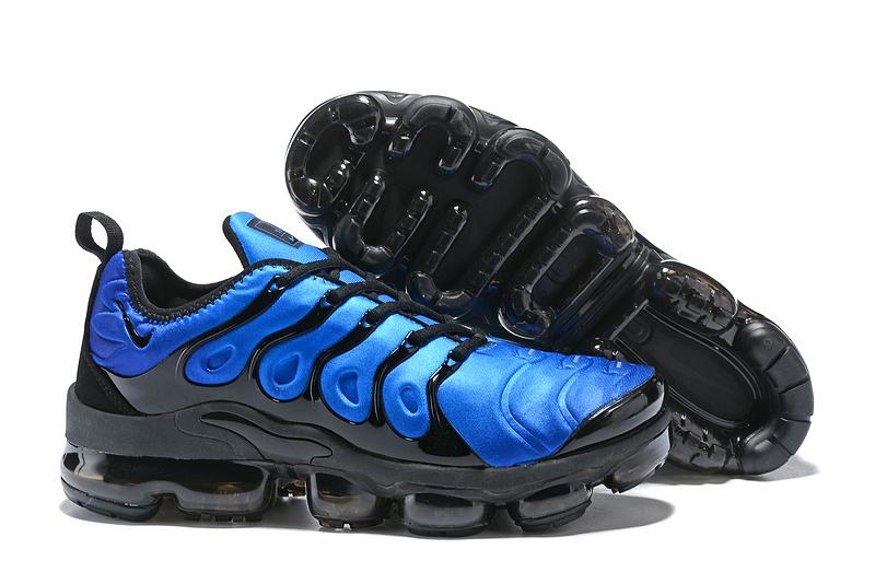 huge selection of 4da3f 618cb Nike Air VaporMax Plus Tn Obsidian Photo Blue Black 924453 401 Men's  Running Shoes 924453-401