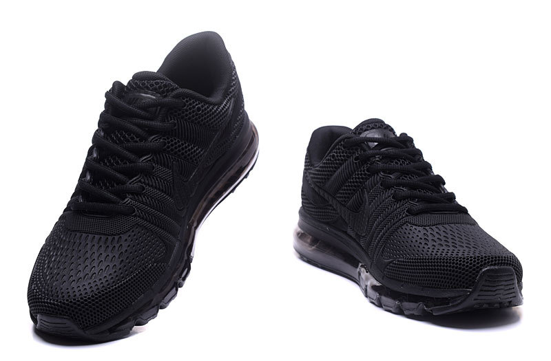 115fb07bac5 Nike Air Max 2017 KPU Triple Black Men s Running Shoes 849560-701 ...