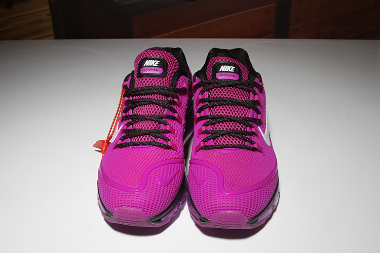 9e50870a3b5 Nike Air Max 2018 Elite KPU Black Purple White Women s Running Shoes ...