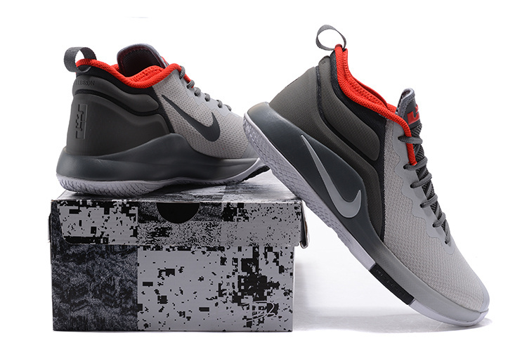 huge discount faa61 6558c ... inexpensive nike lebron witness ii ep 2 grey black red mens basketball  shoes 966e9 a6161