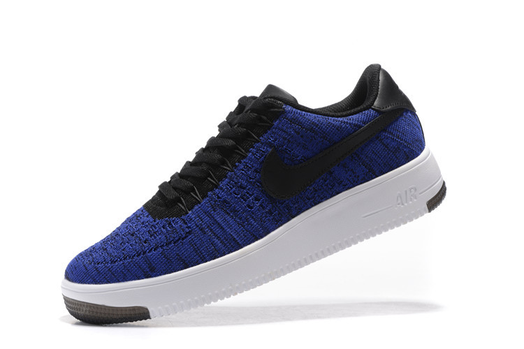 new concept 943fd 15e78 Nike Air Force 1 Ultra Flyknit Low Game Royal Black White Womens Mens  Casual Shoes Sneakers