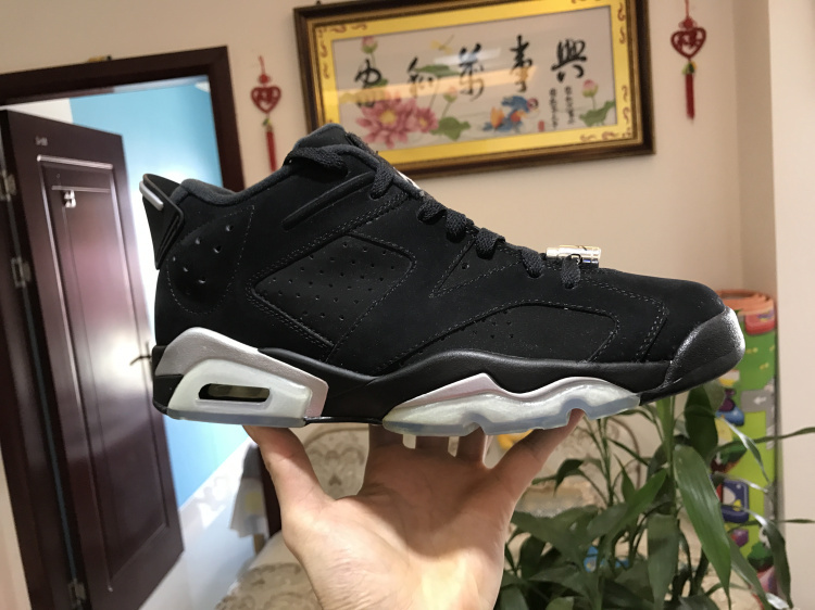 Nike Air Jordan 6 Retro Low Chrome Mens Athletic Basketball Shoes ... 89afaa982