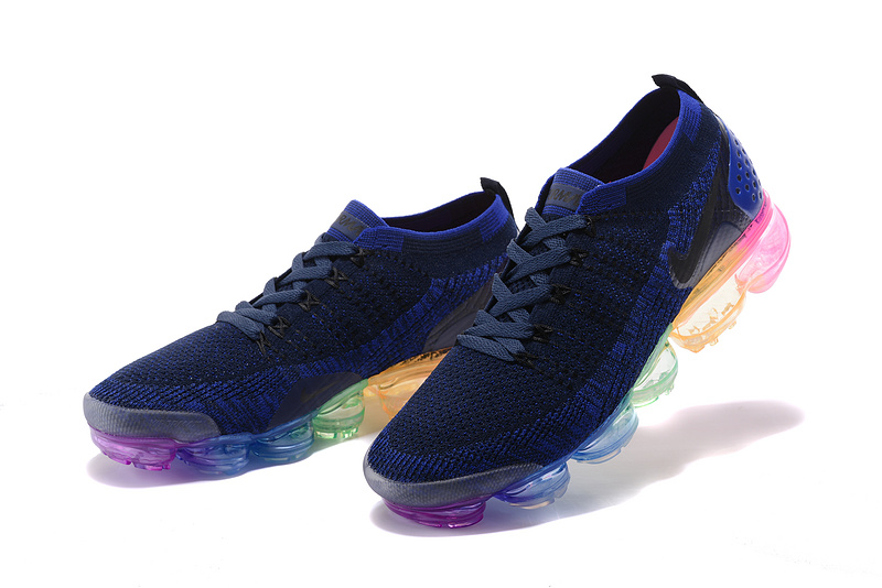 the latest fe139 232c5 Nike Air VaporMax Flyknit 2 TPU Multi-Color Women's Men's Running Shoes  NIKE-ST000580