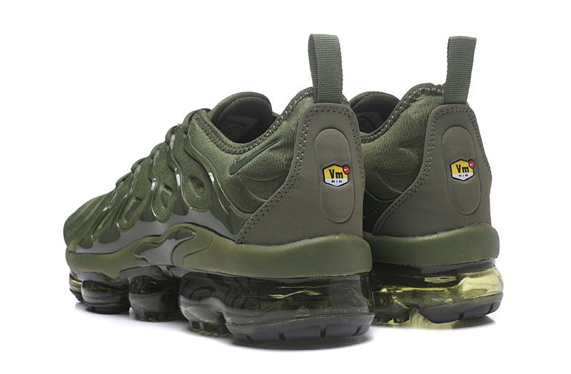 Nike Air VaporMax Plus TN Olive Green Men s Running Shoes NIKE ... 61a656aeb
