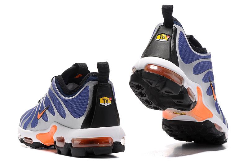 lowest price e60b8 a7019 Nike Air Max Plus Tn Ultra Royal Blue White Orange Black 898015 401 Men s  Running Shoes
