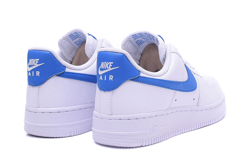 Nike Wmns Air Force 1 07 SE Solar White Blue Men's Women's Running Shoes Sneakers 896184 100
