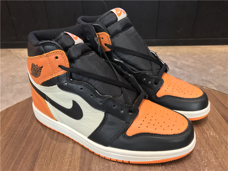 check out 1d804 41078 Nike Air Jordan 1 Shattered Backboard Mens Athletic Basketball Shoes  555088-005