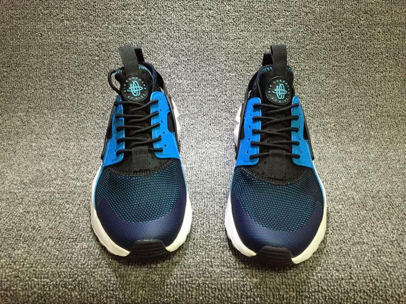 f810e95bf7b47 Nike Air Huarache Run Ultra Blue Lagoon White Black Men s Women s Casual  Shoes