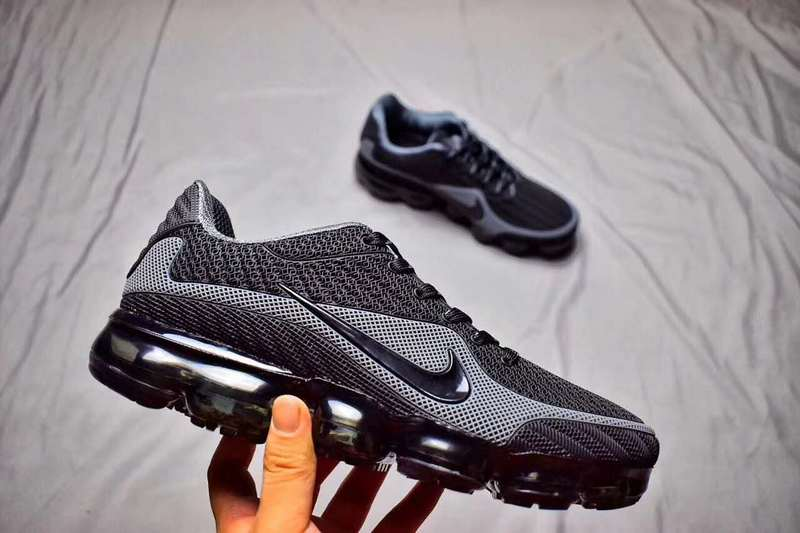 official photos 0204f de263 Nike Air Max 2018 Kpu VaporMax Black Anthracite Grey Men's Women's Running  Shoes NIKE-ST000610