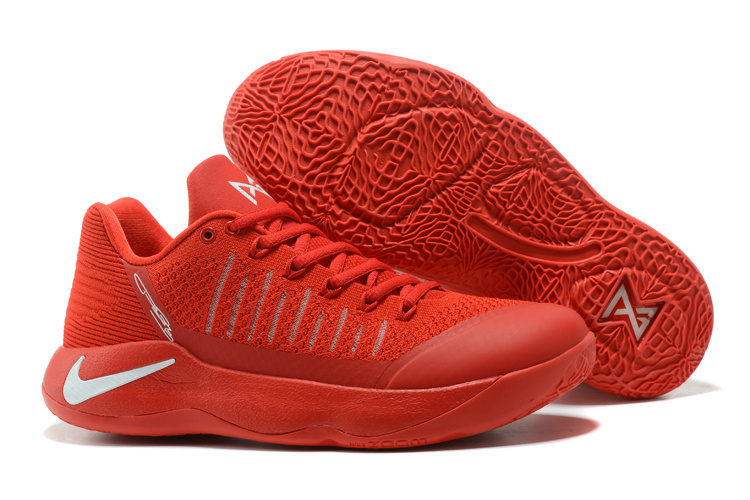 finest selection 1fb2d 3a137 Nike Paul George Shoe PG 2 Flyknit October Red White Men's Basketball Shoes  NIKE-ST001420