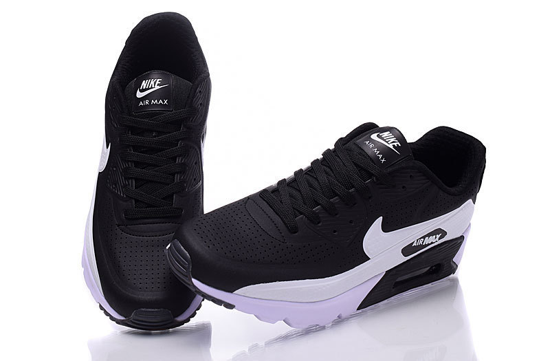 low cost 88466 5d0c8 Nike Air Max 90 Ultra Moire Black White Men s Running Shoes Sneakers
