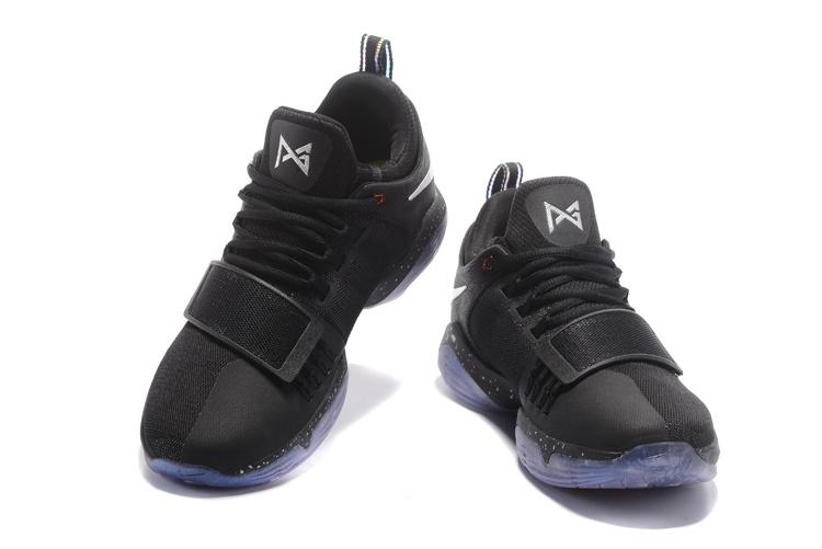 f7d7cc6c6ba Nike PG 1 Shining Paul George Black Multi Color Men s Basketball Shoes