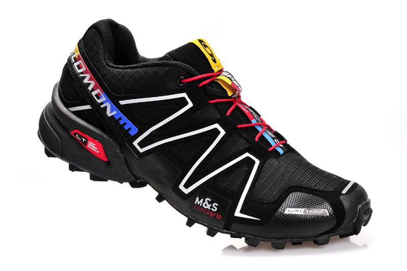 site réputé f80c0 bd864 Salomon Speedcross 3 CS Black Silver Mens Trail Running Shoes NIKE-ST002089