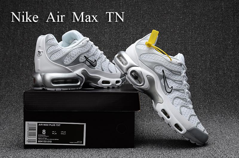 new styles 8297c d3357 Nike Air Max Plus TN Kpu Tuned White Silver Grey Black ...