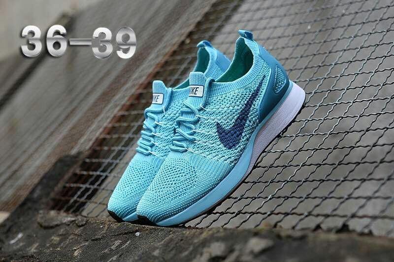 03d943d621d55 Nike Air Zoom Mariah Flyknit Racer Hyper Jade Blue White Women s ...