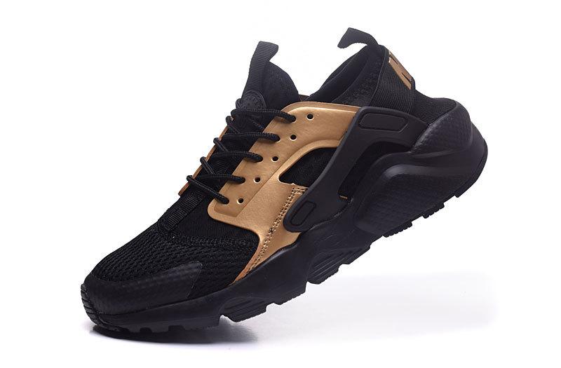 70f703d32d320 ... purchase nike air huarache ultra gold black mens casual shoes 3cd31  b8917