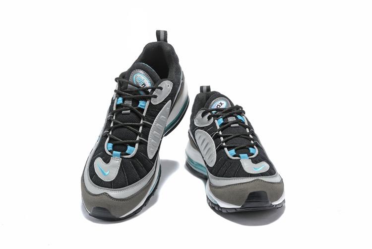 super popular 87568 e93be Top Quality Nike Air Max 98 OG White Black Racer Blue Volt Men s Running  Shoes