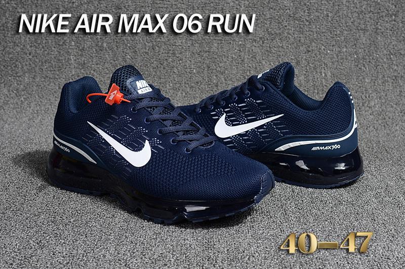 finest selection 21909 2786d ... sale spain mens nike air max 06 run blue 01a60 fab43 b68ed 129c2