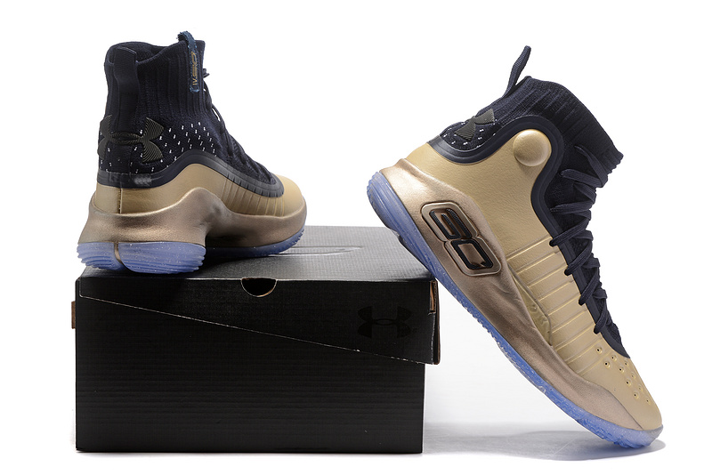 81b26ae33ca2 Under Armour Curry 4 Championship Gold NBA Finals Men s Basketball Shoes