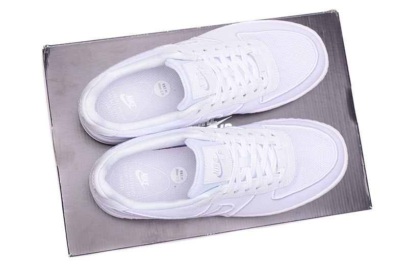 best sneakers a14d8 ee114 Nike Air Force 1 Low Upstep BR White Glacier Blue Mens Womens Running  Shoes Sneakers