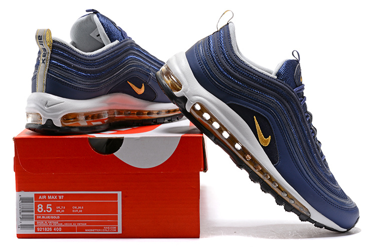 Nike Air Max 97 UL 17 Ultra Midnight Navy Grey Men Shoes