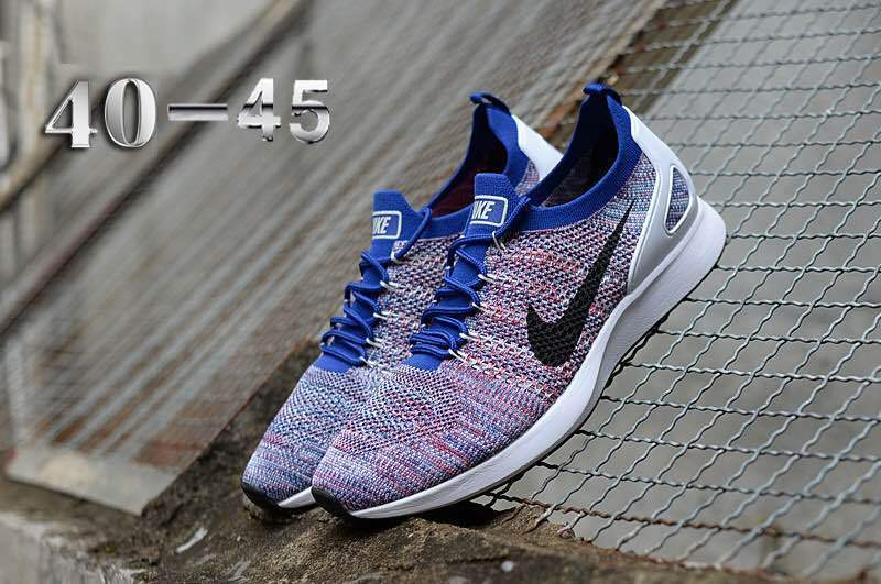 e42d406d279e Nike Air Zoom Mariah Flyknit Racer Multi-Color White Black Men s ...