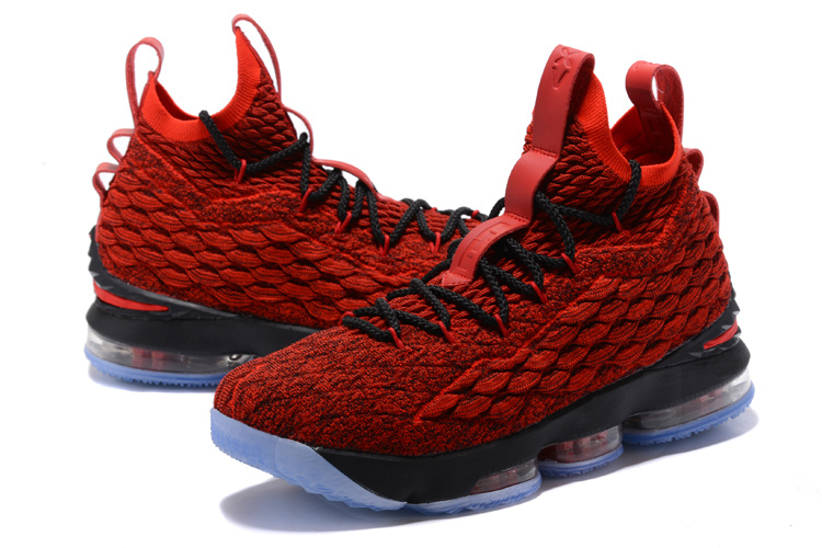 cb871b3f6b9 Nike LeBron James 15 Red Black Men s Basketball Shoes NIKE-ST001796 ...