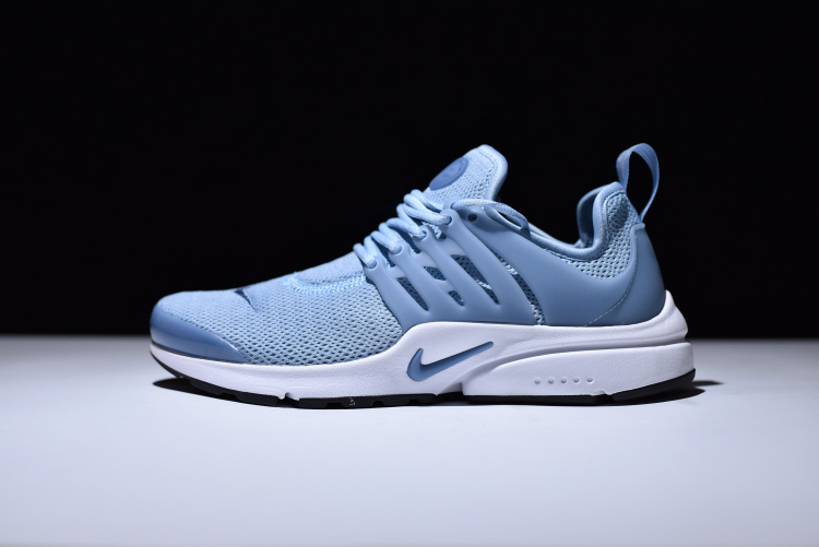 online store 5e74f aa764 Nike Air Presto Blue Grey Black White Ocean Fog Women's Running Shoes  878068-400