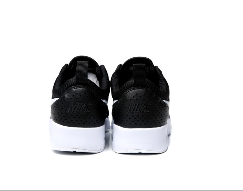 f079fea6b62e Nike Wmns Air Max Thea Black White 599409 020 Women s Men s Running Shoes  Sneakers