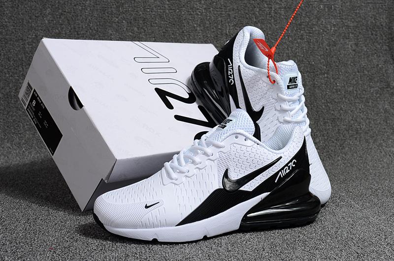 super popular 3567c 12ef2 Nike Air Max Flair 270 KPU White Black Men's Running Shoes NIKE-ST000038