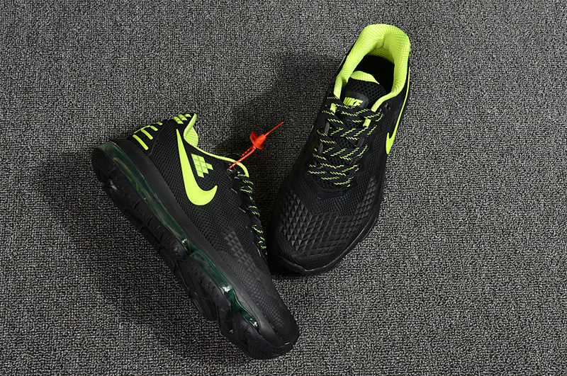 Nike Air Max Flair KPU 2019 Black Green Men s Running Shoes NIKE ... 5f2691a16