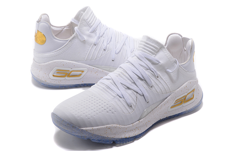 e66bab04d7f4 Under Armour Curry 4 Low White Gold 2017 NBA Finals Men s Basketball Shoes