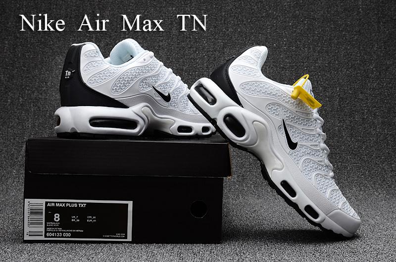 3c083589b562a5 Nike Air Max Plus TN KPU Tuned White Black 604133 030 Men s Running ...