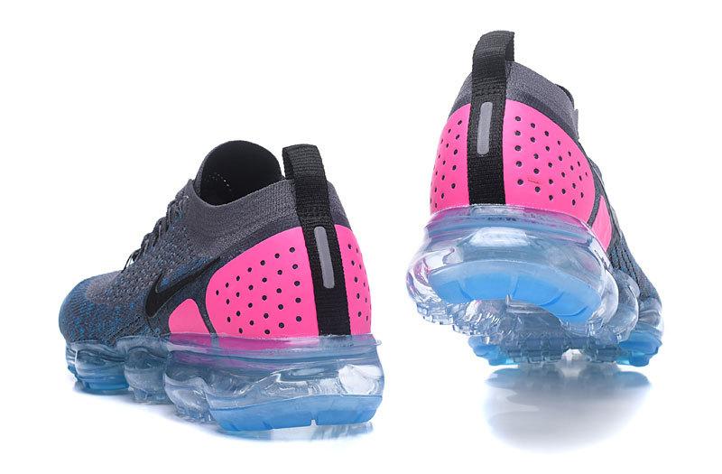 info for a94f9 1f0c4 Nike Air VaporMax Flyknit 2. 0 W Gunsmoke Blue Orbit Pink Blast Black  Women's Running