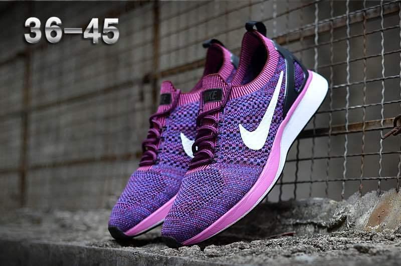 5b82de86d69 Nike Air Zoom Mariah Flyknit Racer Purple White Women s Running ...