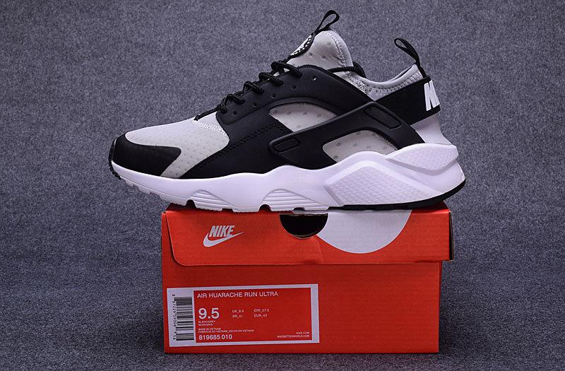 ae5ab431e25a Nike Air Huarache Run Ultra Wolf Grey Black Cool Grey White Men s ...