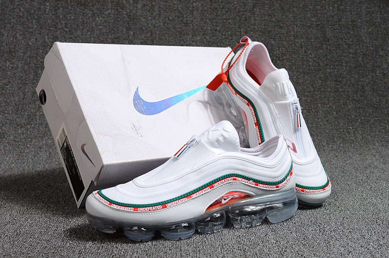 9c98f92a021 Undefeated Nike Air Max 97 VaporMax 2018 KPU White Green Red Men s ...