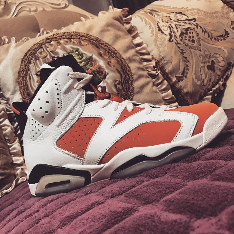 100% authentic 9f01a 6d01a Nike Air Jordan 6 Retro Gatorade 384664-145 ...