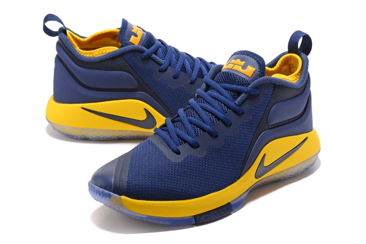 39d23b784a1c ... australia nike zoom witness ep lebron james navy blue yellow mens basketball  shoes 9cbc1 8005f