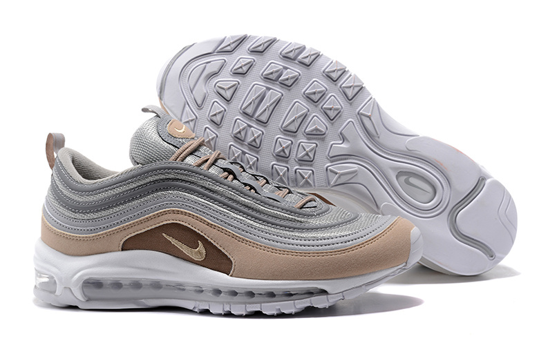 wholesale dealer 47394 933b1 Undefeated x Nike Air Max 97 OG Cobblestone White Men's Running Shoes  921826-002A