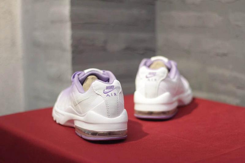 4eb9a0f19a65 Nike Air Max Invigor Print 95 Purple White Women s Running Shoes ...