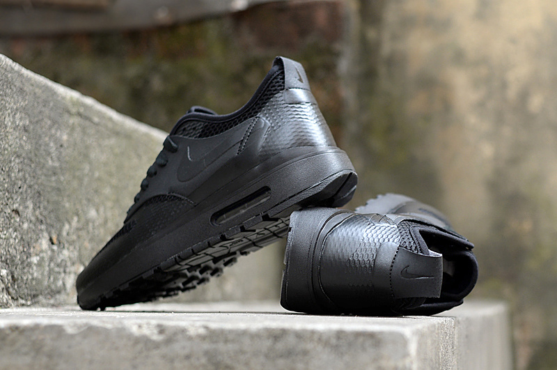 Nike Air Max 1 Ultra Essentials 'Triple Black' and 'Triple