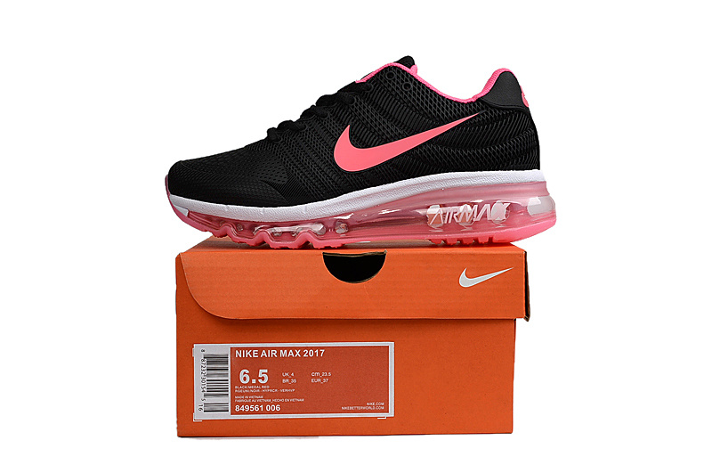 low priced 50115 1f456 Nike Air Max 2017 KPU Black Pink White Women s ...