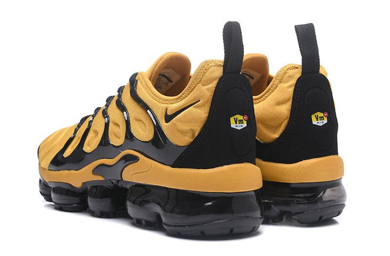 new styles 8b953 81f53 Nike Air Max Plus TN 2018 Yellow Black Men s Running Shoes