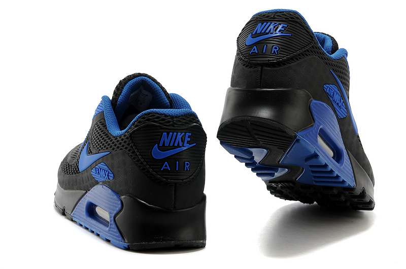 quality design dbcf6 4b825 Nike Air Max 90 KPU Royal Blue Black Mens Running Shoes Sneakers