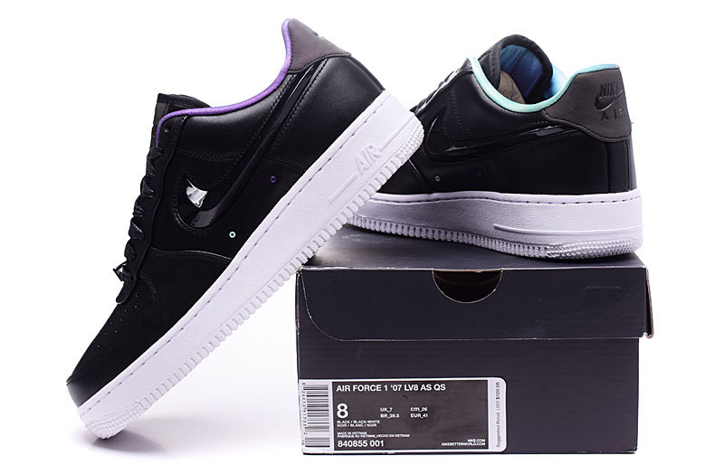 reputable site be9b6 5c401 Nike Air Force 1 Low LV8 QS Northern Lights Black White ...