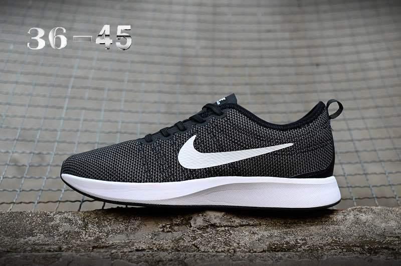 1cb8c2ad19a8 Nike Air Zoom Mariah Flyknit Racer Black White Women s Men s Running Shoes