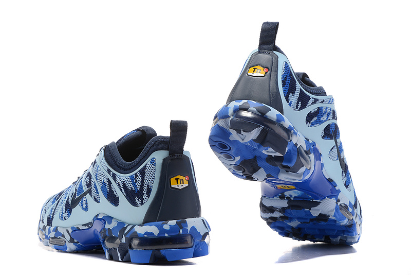 6430f0ea89 Nike Air Max Plus Tn Ultra Navy Blue Camouflage 898015 023 Men's Women's  Running Shoes